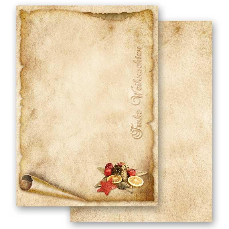 Motiv HERBST-RAHMEN 50 Blatt DIN A4 Briefpapier