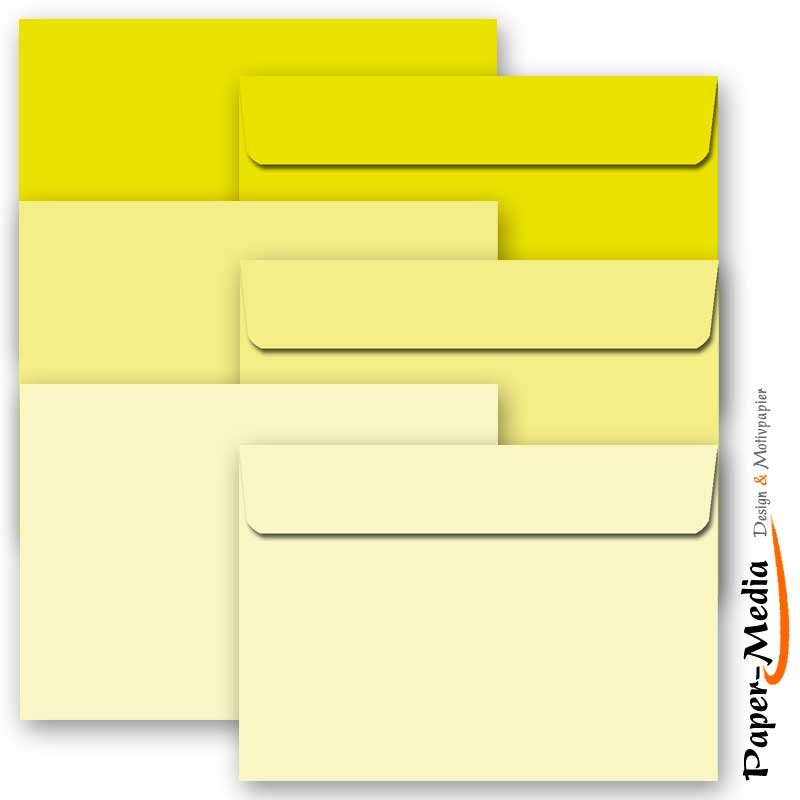 30 farbige Briefumschläge FARBE 302 C6 ohne Fenster