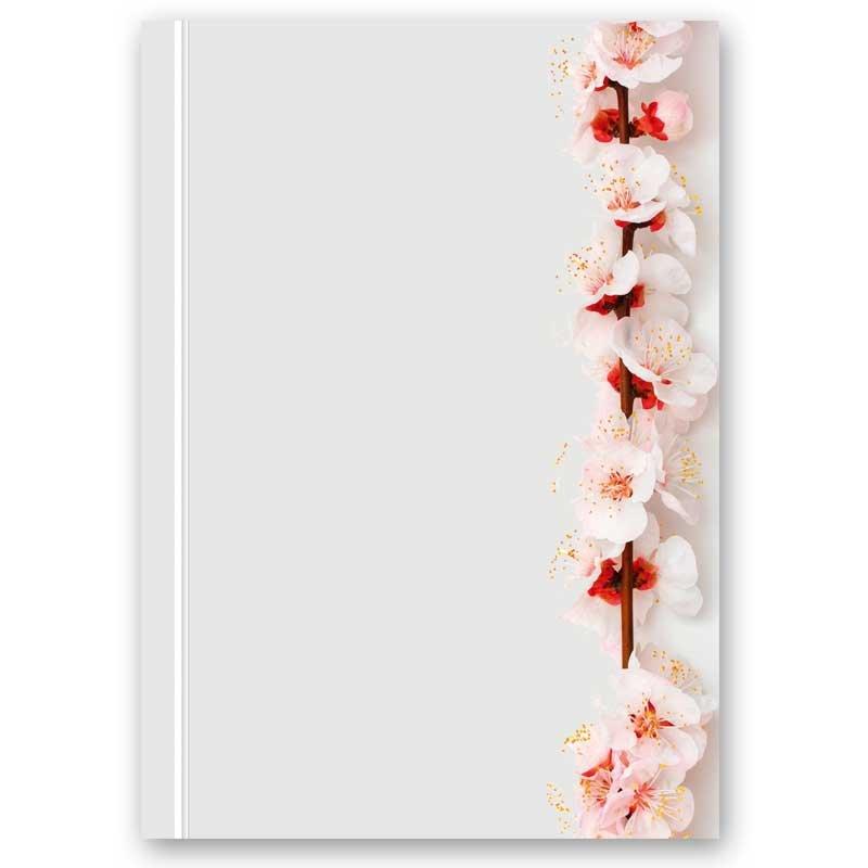 Motivpapier TROCKENE BLUMEN 20 Blatt DIN A4 90g//m²