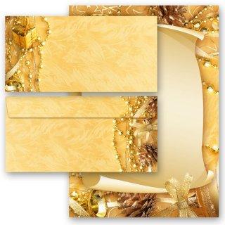 20 tlg briefpapier set frohe weihnachten. Black Bedroom Furniture Sets. Home Design Ideas