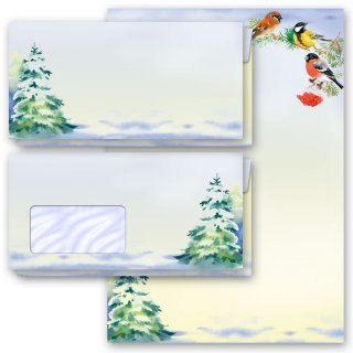 Briefpapier-Sets WINTERZEIT (Variante A)