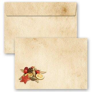 Motiv-Briefumschläge VOGELGEZWITSCHER ohne Fenster C6 10 Stück