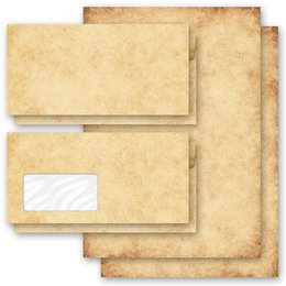 Briefpapier-Sets Altes Papier Vintage HISTORY